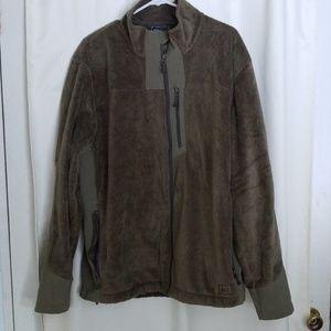 REI Army Green Fleece Jacket